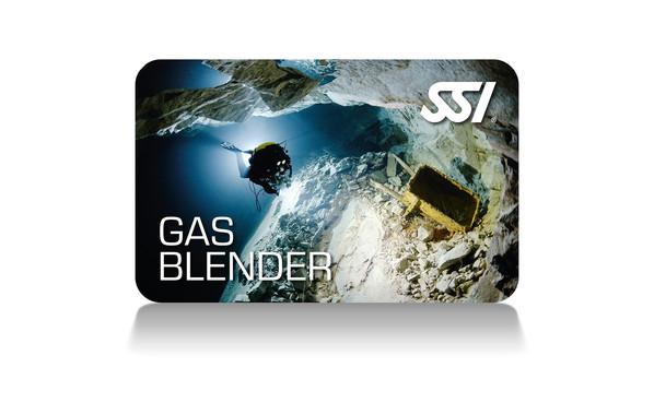 Gas blender nitrox & trimix instructor kit